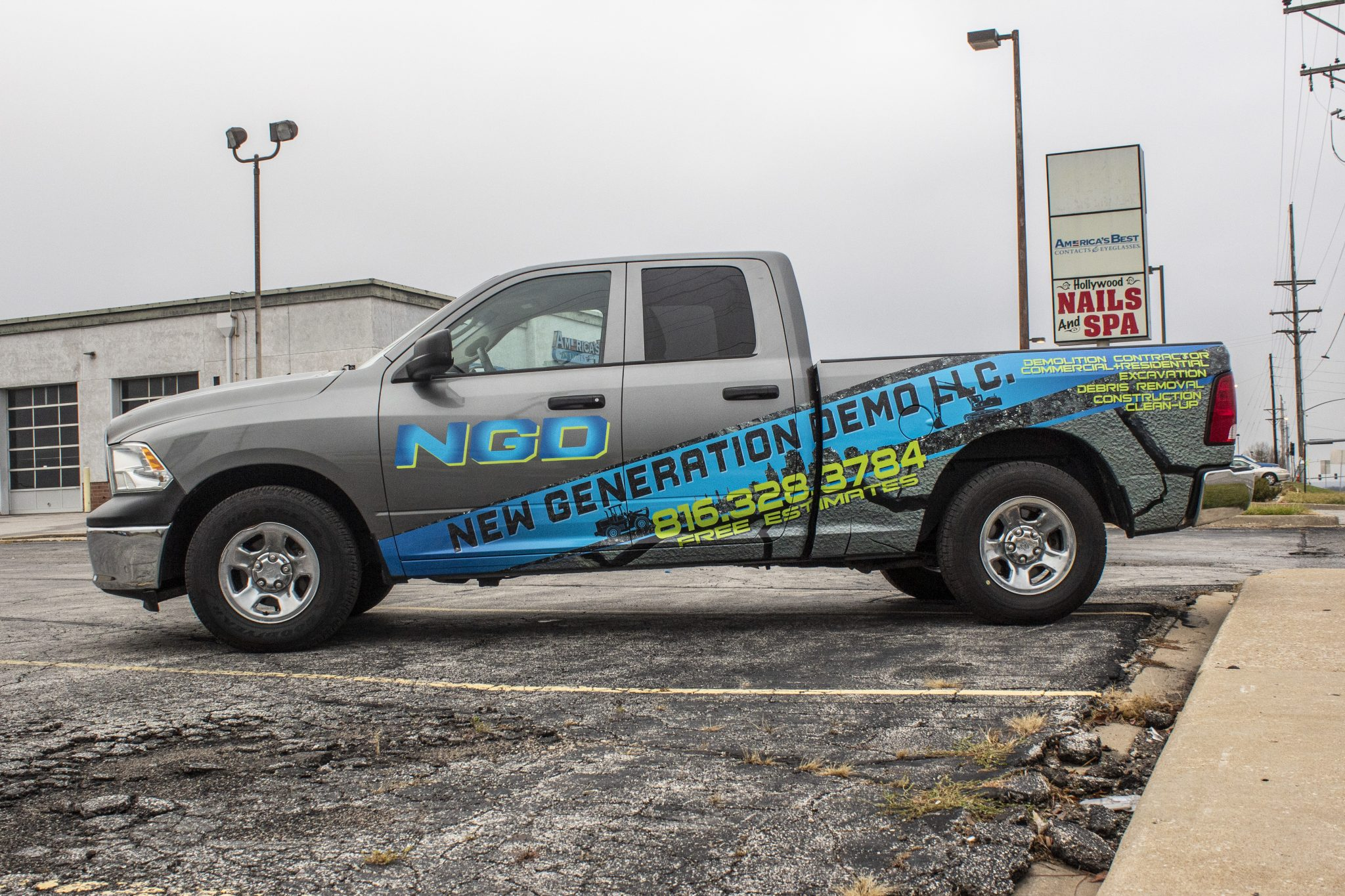 Commercial Truck Wrap Graphics Graphic Wrap