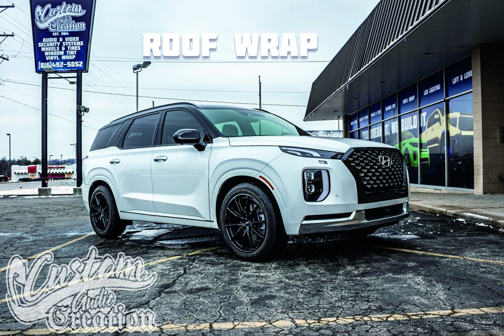 Roof Wraps, Black-out roof